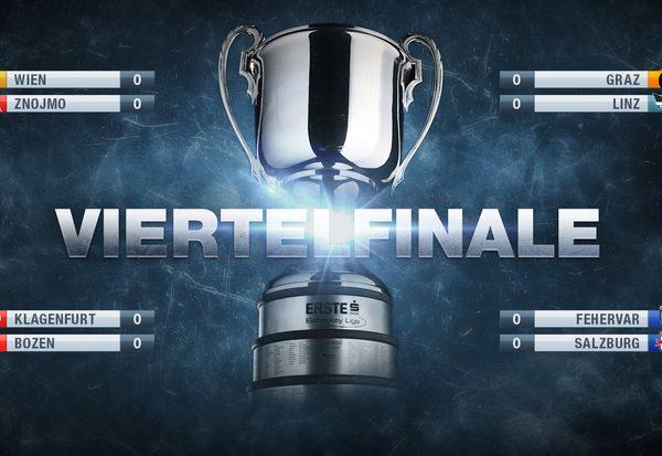 Die Viertelfinal-Duelle