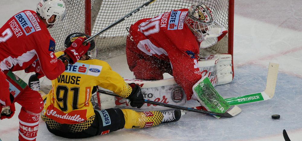 VIC vs. KAC: Alle Tore