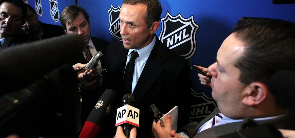 Yzerman zurück bei Detroit Red Wings